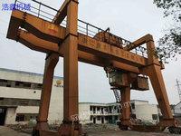 Sale of used double-beam gantry crane 32~5 tons 14 meters span