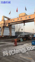 Sale of used crane which is 100 tons weight 22 meters span.
