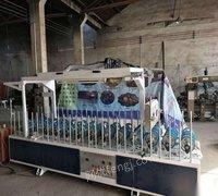 山东烟台二手木工机械设备 包覆机出售