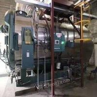 天津東麗區出售二手2018年閑置美國cb品牌8噸燃氣蒸汽鍋爐一臺 500000元