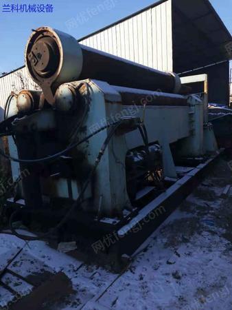 出售二手45*3.2米机械卷板机