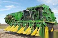 新疆乌鲁木齐出售2018年二手采棉机约翰迪尔CP690