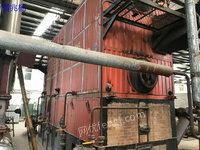 出售2014年南通万达6吨13公斤二手燃煤蒸汽锅炉