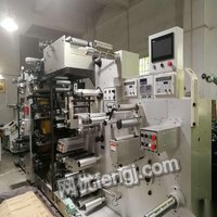 河南郑州转让一台兆龙260全轮转,二手不干胶轮转机,凸版印刷机
