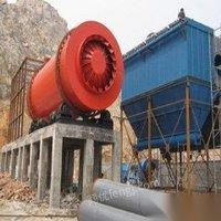 山东淄博转让三筒河沙烘干机 二手三回程黄沙干燥设备 115000元