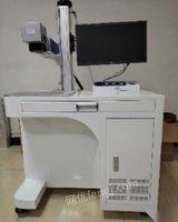 广东中山一台20w光纤激光打标机低价转让 10200元
