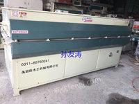 高价回收木工设备异型覆膜机