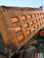 山西忻州本地出售德龙后八轮工程车车队