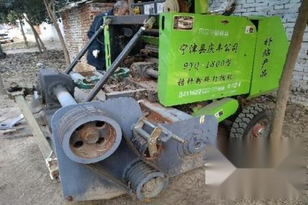 河南周口秸秆粉碎打捆机-1800型捡拾圆捆机-转让 8000元