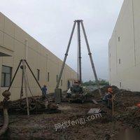 湖北荆州出售机钻深井,降水井,岩石井设备