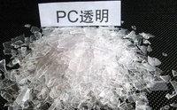 求购PC透明高中低粘水口料,