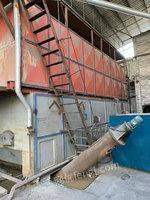 太湖产15吨二手燃煤蒸汽煤炉出售