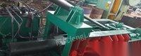 出售二手江苏华宏125吨金属液压压块机打包机