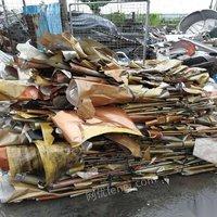 回收专业废纸 纯黄纸皮 承包工厂废纸 切边纸