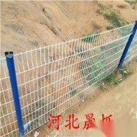 供应二手大同山村公路护栏圈山网刀片刺网河道护栏养殖铁丝网