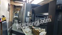 海德堡对开五色胶印机出售