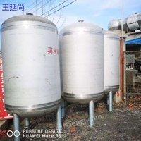 低价处理1-3立方全新压力储罐共计50台
