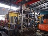 出售两条HDPE聚乙烯钢带波纹管生产线、2009年上海金石东