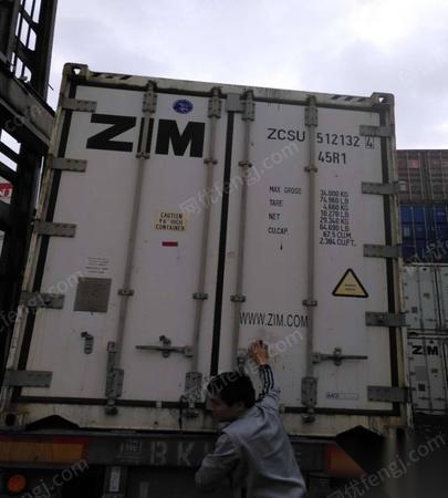 广州黄埔大量二手集装箱出售20尺40尺集装箱
