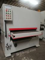 出售二手台湾车积砂光机 二手木工机械 实木砂带机 二手砂光机