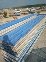 转卖二手活动板房 复合板  行车粱