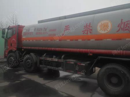 厂家出售12/14年东风多利卡货车2台。宏泰29.7立方运输罐车1台。有图片