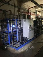 河北承德出售12台二手12吨双机反渗透蒸馏水机8900元