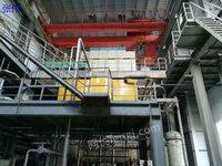 出售18MW汽轮发电机75吨蒸汽锅炉一套设备