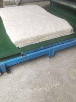 出售二手一次成型铺网型棉被生产线
