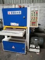 高价回收实木砂光机 二手木工机械回收 二手双带砂光机 二手砂光机