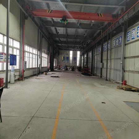 因厂房搬迁.出售河南矿山2.8吨行车 跨度11米,单边轨道56.8米