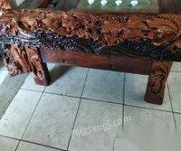 出售老船木茶台,榆木茶桌,各种花梨大板。