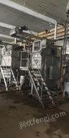 印染厂出售50-120公斤二手常温染色缸