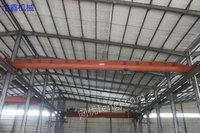 出售LD10吨二手单梁行车13.5米跨单梁航吊