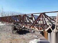 出售闲置二手龙门吊行车天车起重机10吨22+6+6 4万元
