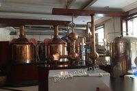 出售二手小型自酿啤酒设备(哈尔滨产) 90000元