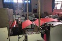 急急出售2013年电脑全自动温州飞豹1200卷对卷单色高速丝网印刷机