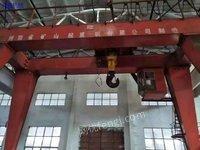 二手100/10吨双主梁龙门吊在位出售