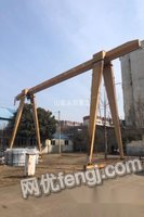 处置积压龙门吊5吨跨度15+4+4米