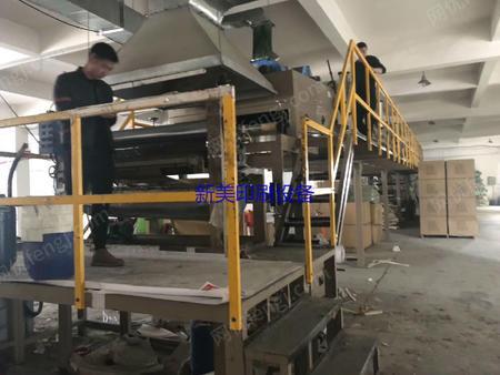 浙江温州出售两台涂布复合机一台1350型,有一台1800型烘箱十六米,江