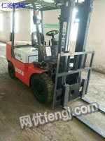 Sale of 4 sets of used forklifts,3 tons,7 tons