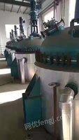 出售二手6300升搪瓷反应釜全套共8台