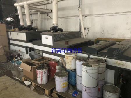 浙江温州出售1台飞豹1020型全自动丝网印刷机