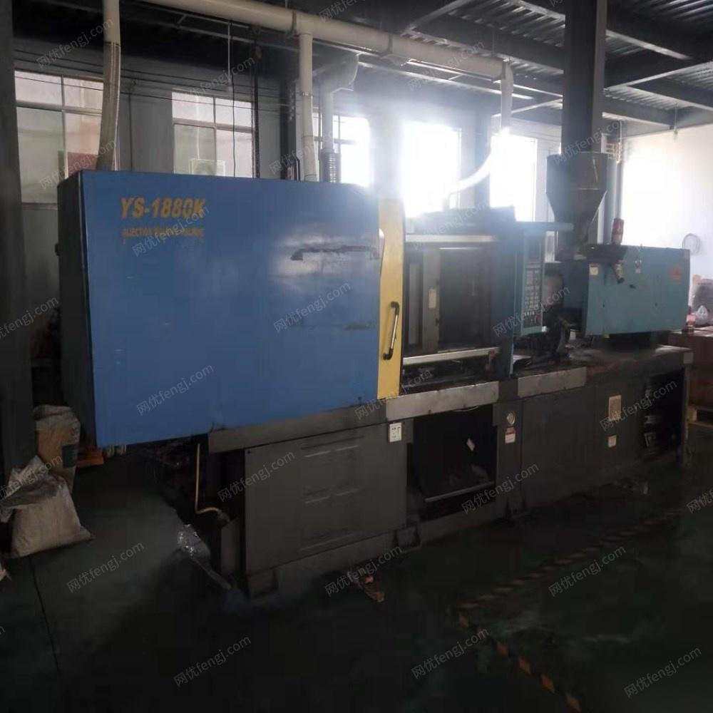 永生188吨注塑机处理