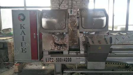 铸造厂出售500*4200断桥铝设备1套。有图