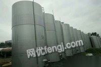 供应二手各种型号防腐储罐,不锈钢储罐铁罐聚乙烯储罐玻璃钢储罐