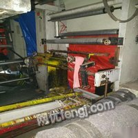 凹版印刷机1000型五色,装大版直径100到900. 120000元