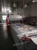 出售二手木工机械济南展鸿TM2580多功能异形压机
