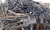 求购废钢筋大量建筑工地废旧钢材废钢筋