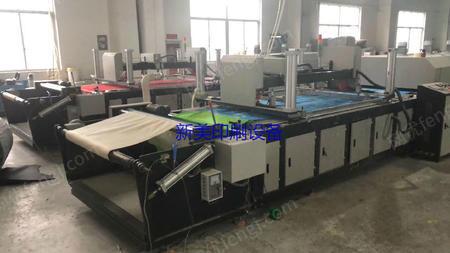 浙江温州出售1台二手2018年碧宏无纺布丝印机